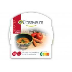 soupe de Poulet et son minestrone