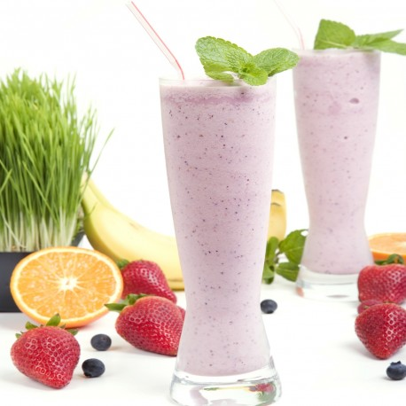 Smoothie Orange Fraise