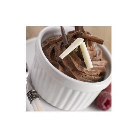 mousse au Chocolat, suggestion de présentation