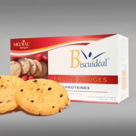 24 biscuits fruits rouges