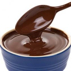 froid, l'entremet chocolat est très onctueux