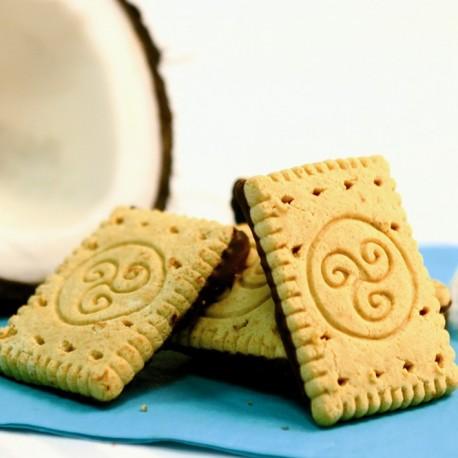 Petits Beurres noix de coco et chocolat