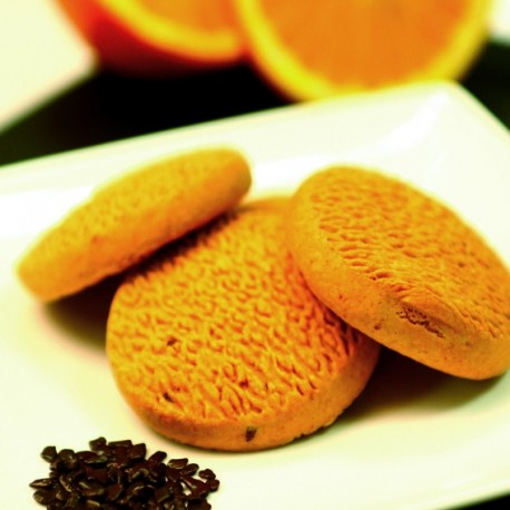 Biscuit Orange pépites chocolat
