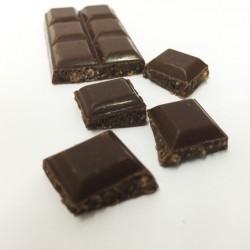Chocolats fourrés au chocolat