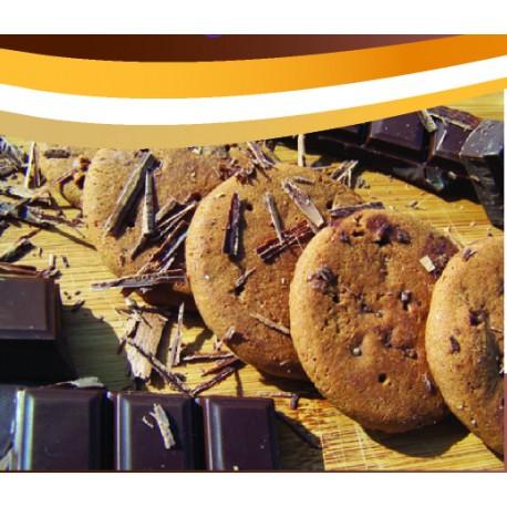 Biscuits sablés cacao noisette