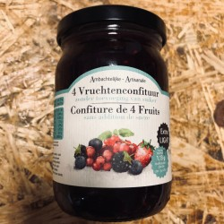 Confiture artisanale 4 fruits