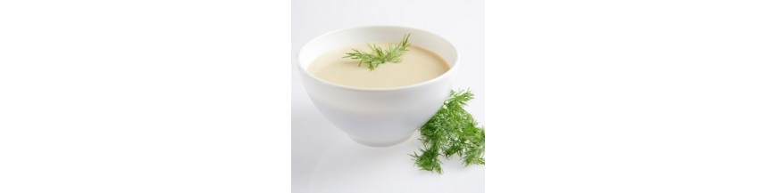 Veloutés, Potages et Soupes